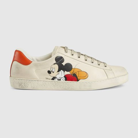 Zapatilla modelo Ace Disney x Gucci (650 euros)