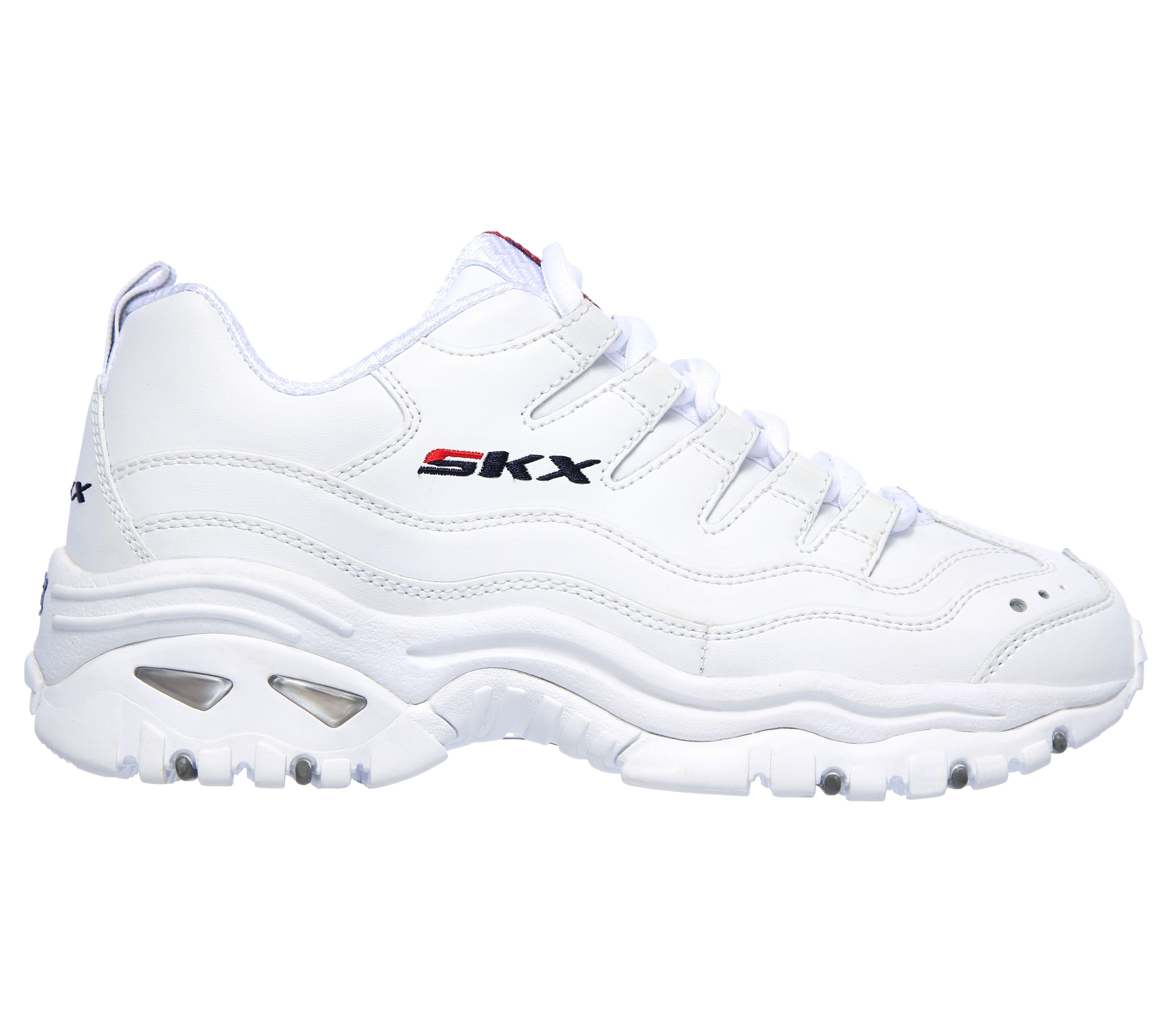 zapatillas skechers mujer verano 2019 blanco azul