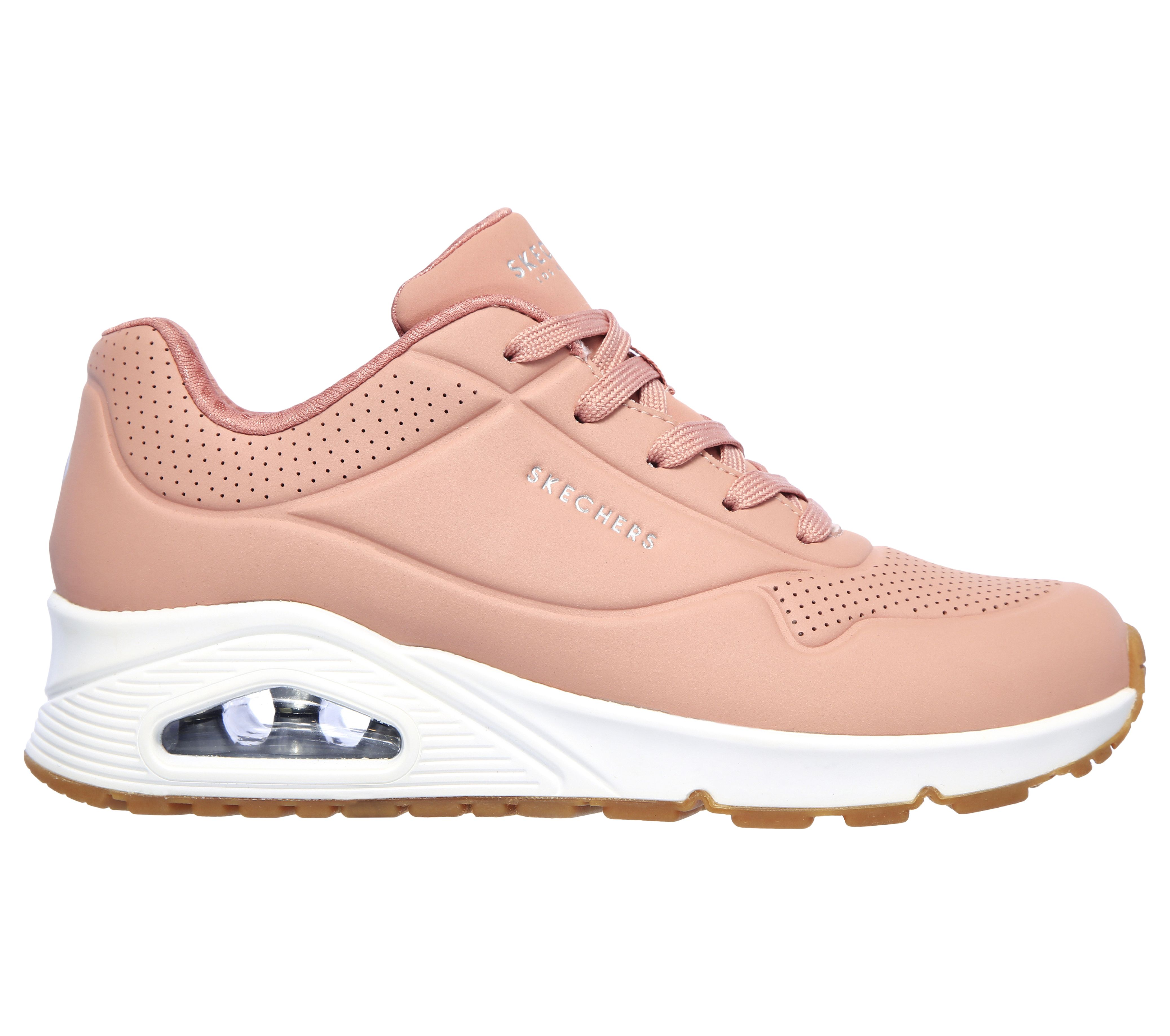 zapatos skechers 2018 new westminster largo rosa