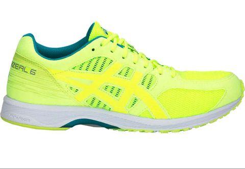 Shoe, Footwear, Running shoe, Outdoor shoe, Athletic shoe, Walking shoe, Green, Yellow, Cross training shoe, Tennis shoe,