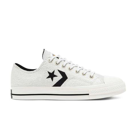 reverse terry star player low top