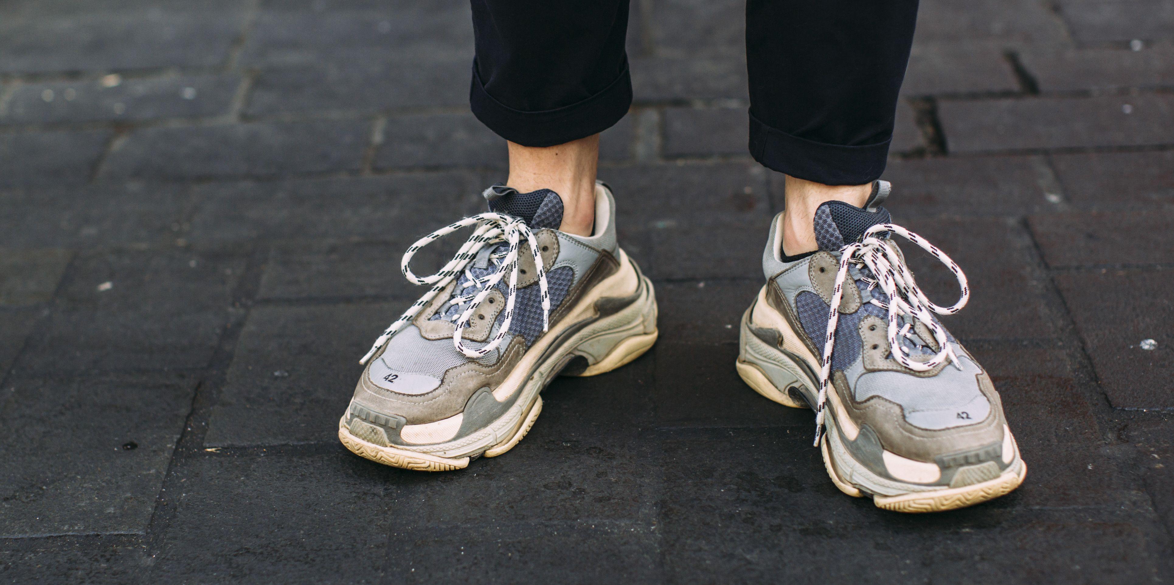 Zapatillas chunky hombre