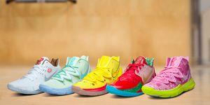 colección, zapatillas, nike, bob esponja