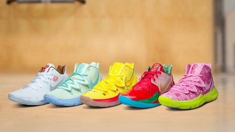 seleccione original imágenes oficiales como comprar Así son las zapatillas de Nike inspiradas en la serie Bob Esponja