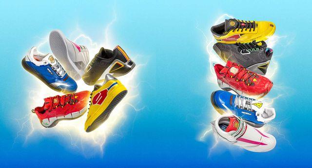 zapatillas reebok x power rangers