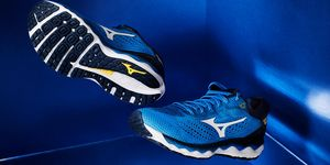 wave, sky 3, zapatillas, running, mizuno
