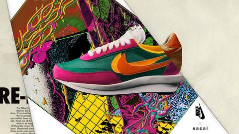 el precio más bajo 0601d 9c8eb Sacai x Nike LDWaffle: las innovadoras zapatillas de runinng