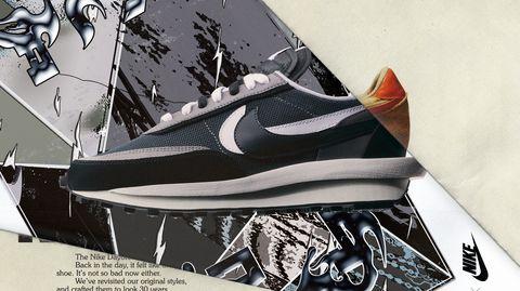Interpretación Nueva llegada cuadrado  Sacai x Nike LDWaffle: las innovadoras zapatillas de runinng