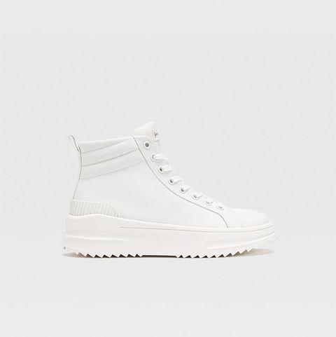 zapatillas de bota alta de stradivarius