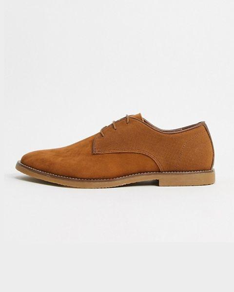 zapato cordon marron de topman