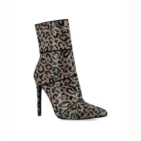 Footwear, High heels, Boot, Shoe, Beige, Durango boot,