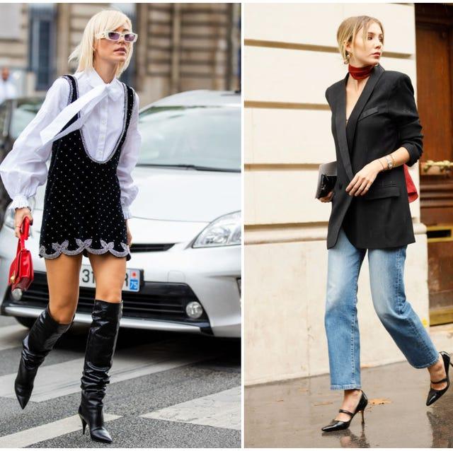 zapatos tendencia 2019 paris street style