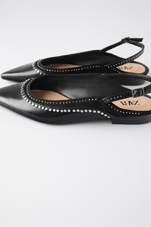 Zapato Plano Busco Zara buen estado por 1,00 EUR en The