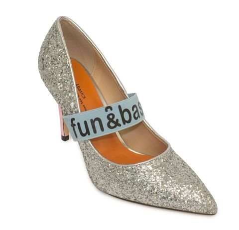 Footwear, Shoe, Court shoe, Orange, Mary jane, Silver, Beige, High heels, Dress shoe, Dancing shoe,