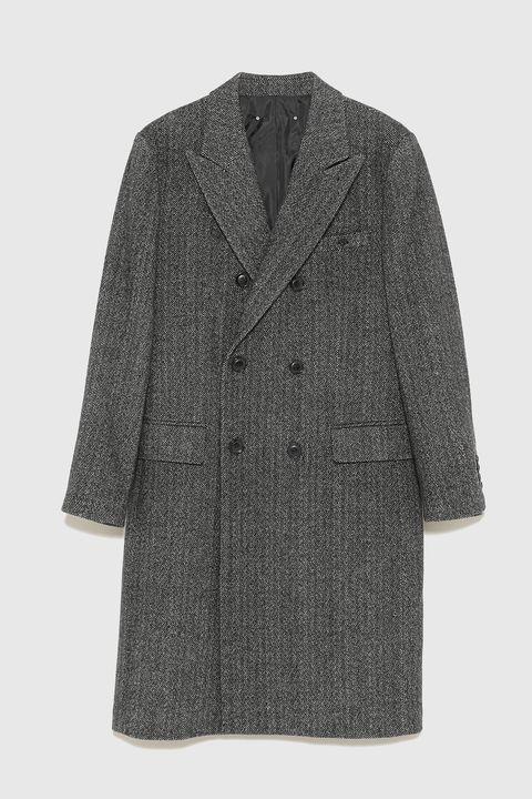 Clothing, Outerwear, Coat, Sleeve, Jacket, Overcoat, Top, Woolen, Blazer,