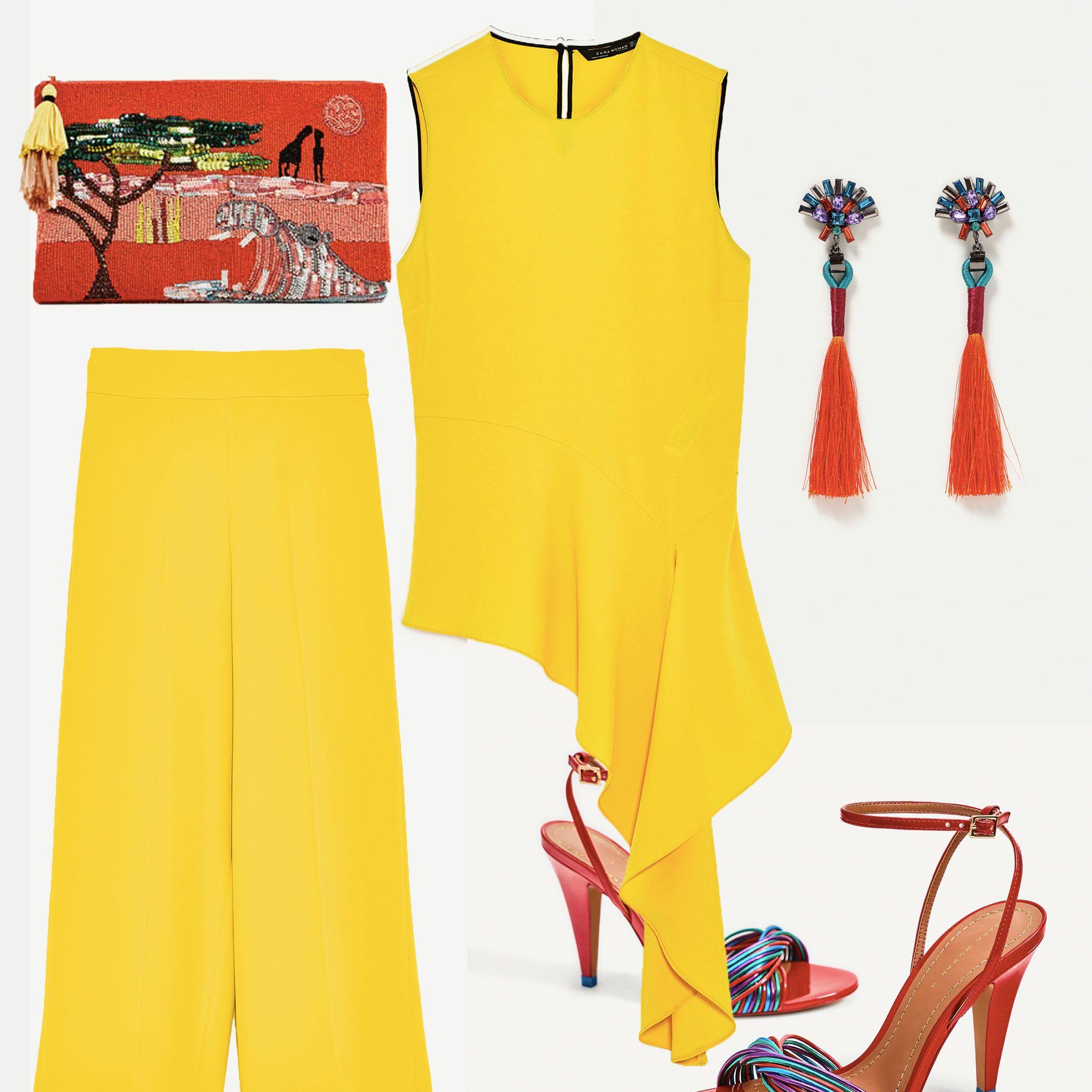 Zara wedding outfit