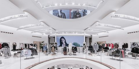Building, Shopping mall, Interior design, Architecture, Ceiling, Design, Daylighting, Retail, Space,