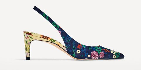 Zara slingback shoes