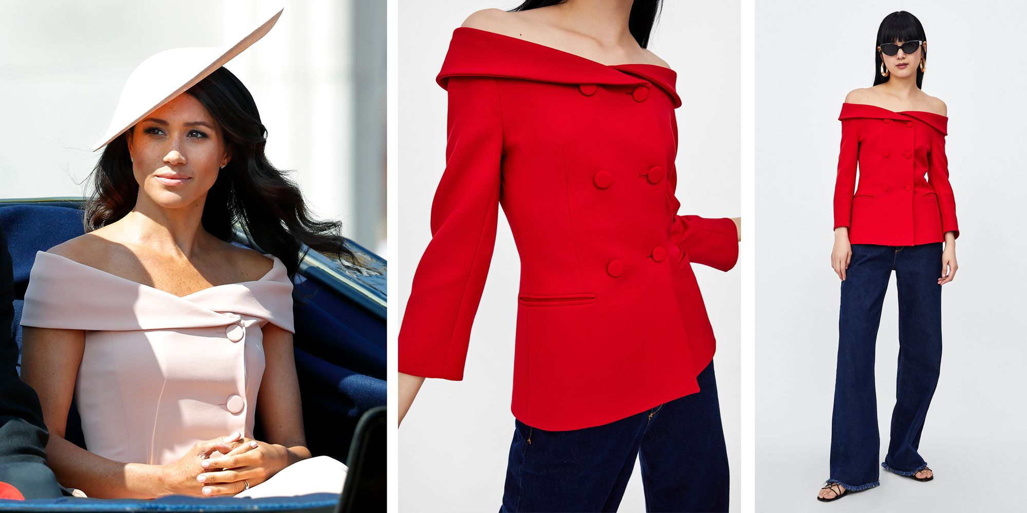 Meghan Markle inspired Zara blazer