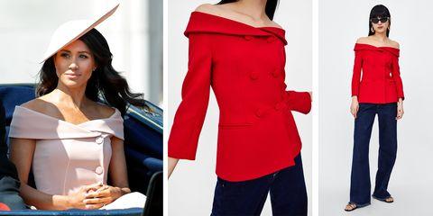 Zara Is Selling A Blazer That Looks Exactly Like Meghan Markle S