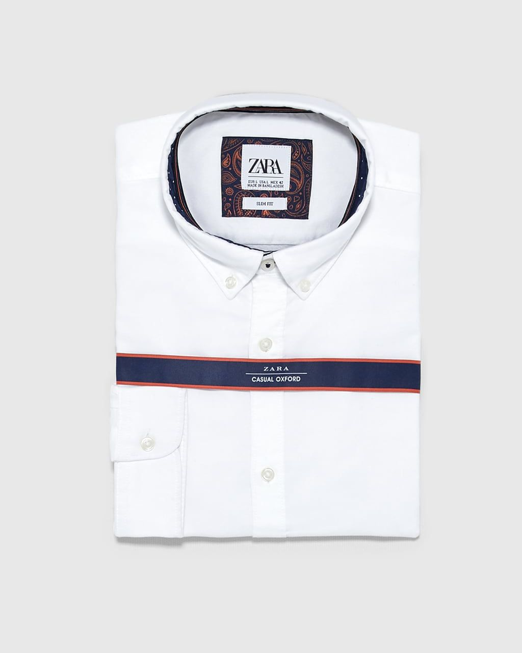 Camisa oxford hombre, camisa oxford