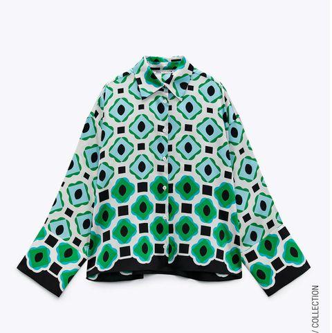 camisas de la colección de verano de zara