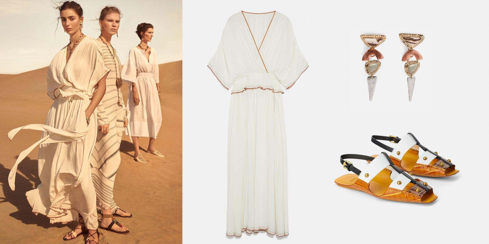 Los vestidos, trajes, túnicas de Zara Campaign ya han