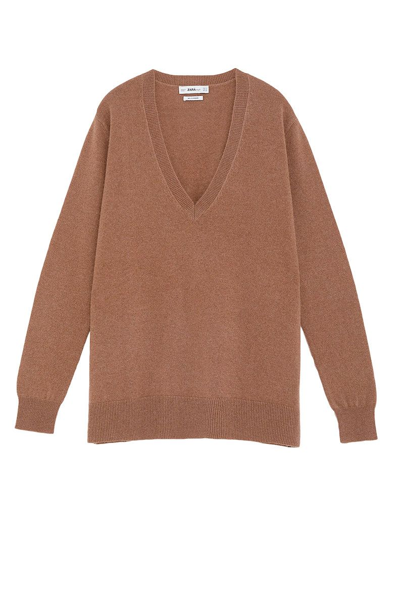 6306b52d The Best Cashmere Jumpers For Every Budget - High Street and Designer |  ELLE UK