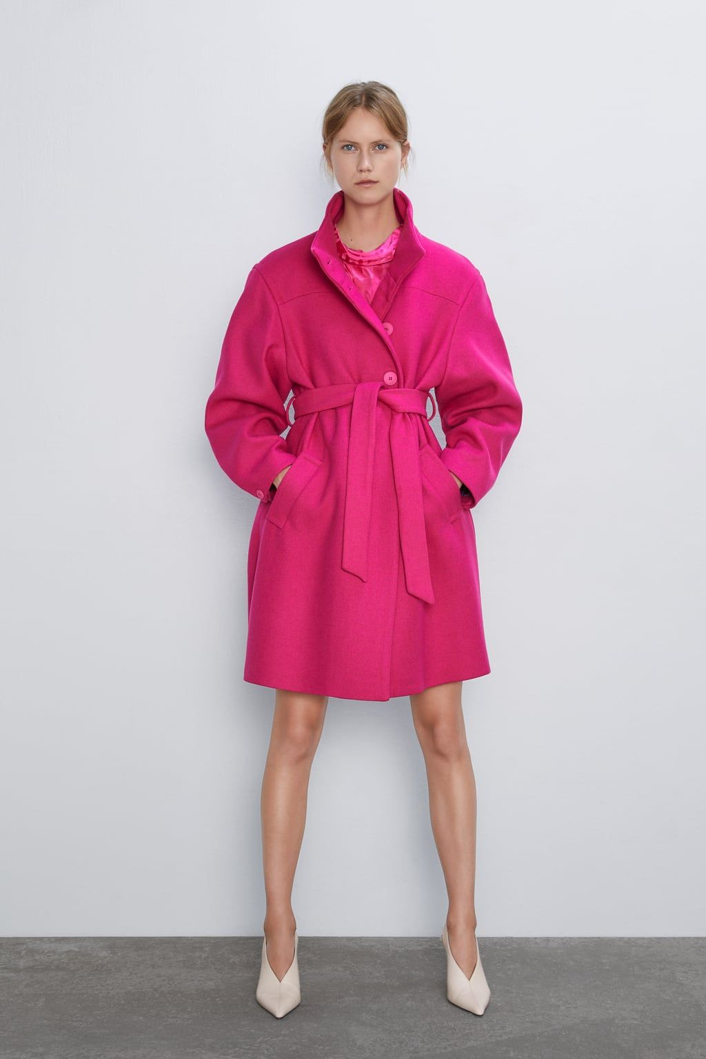 Hot Pink Coats Going Bright For Fall 2019 | Sydne Style
