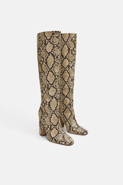 224e913914 Cinco ideas para llevar el estampado de serpiente - Estampado de ...
