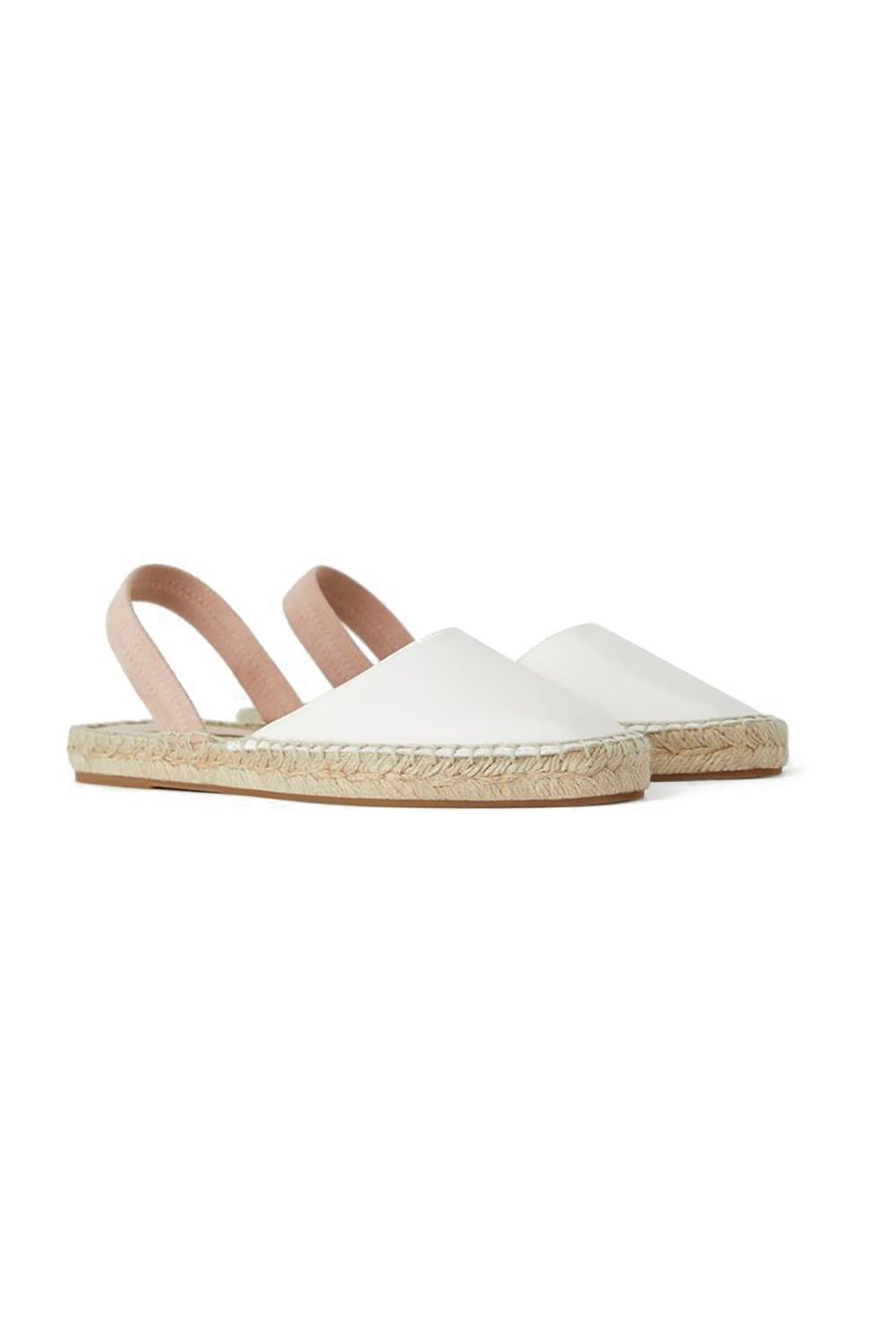 Sophisticated Comfort Zara, $20 SHOP IT Spring is one step closer to summer, which means espadrilles are in season.