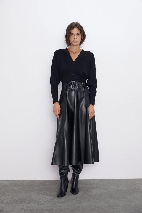 prezzo interessante codice promozionale sconto Gonna di pelle = moda inverno 2019, 5 modelli Zara da avere