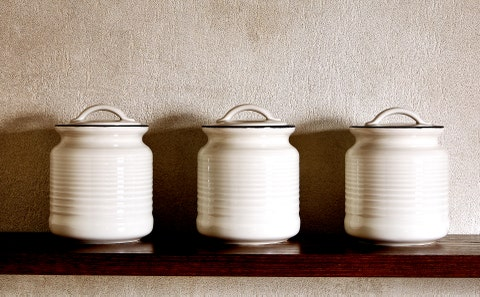 Food storage containers, Still life, Still life photography, Dairy, Milk, Glass, Jug, Beige, Tableware,
