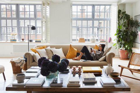Zara Home en el loft de Alex Eagle