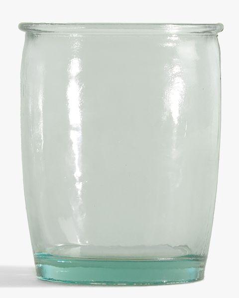Vaso de vidrio reciclado de Zara Home