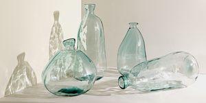Nueva colección de vidrio reciclado de Zara Home