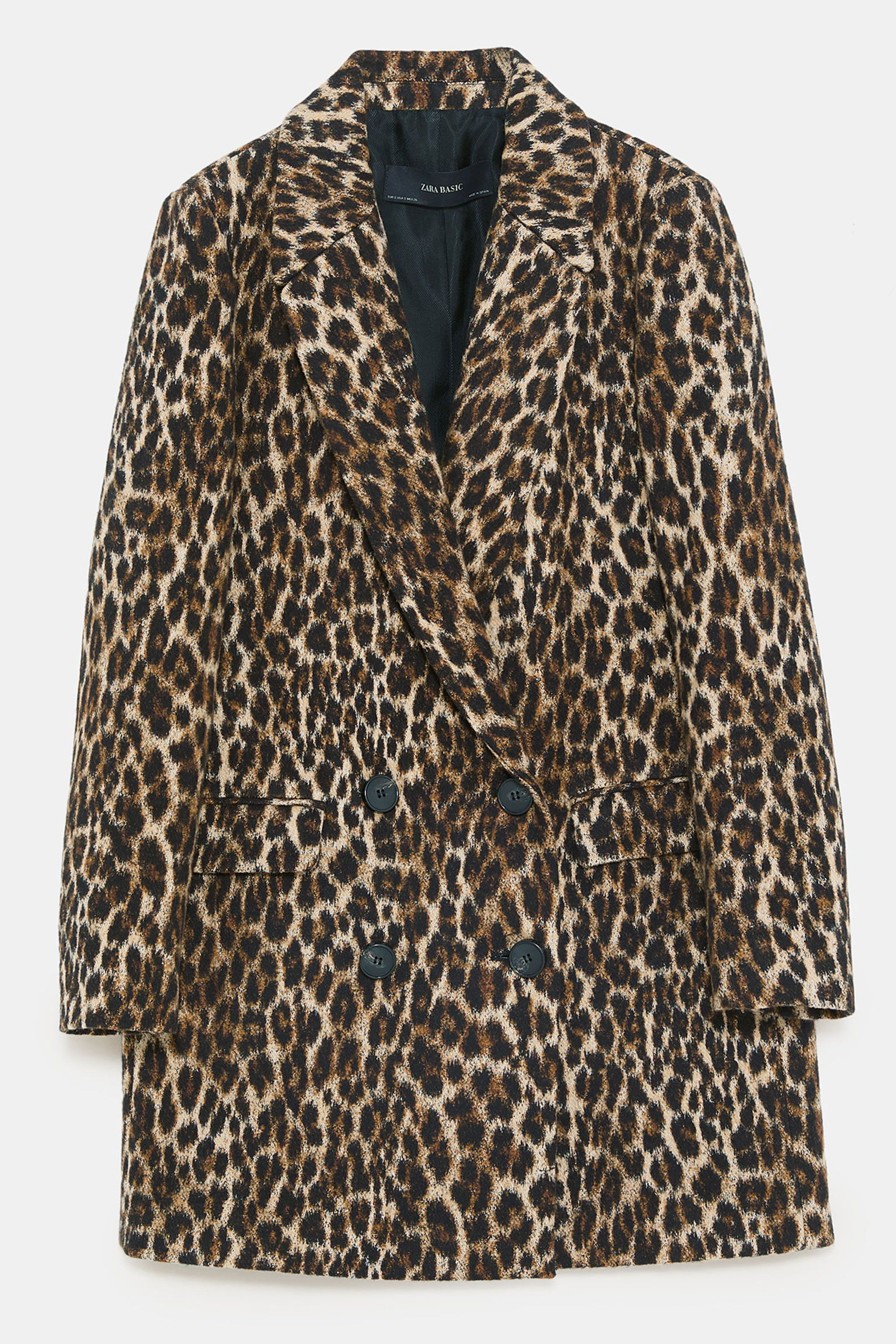 5e8e793ad13a The best leopard-print coats to buy this winter – Leopard coats to wear  autumn winter 2018