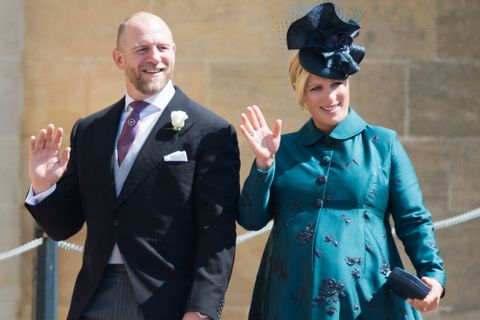 Zara and Mike Tindall welcome baby