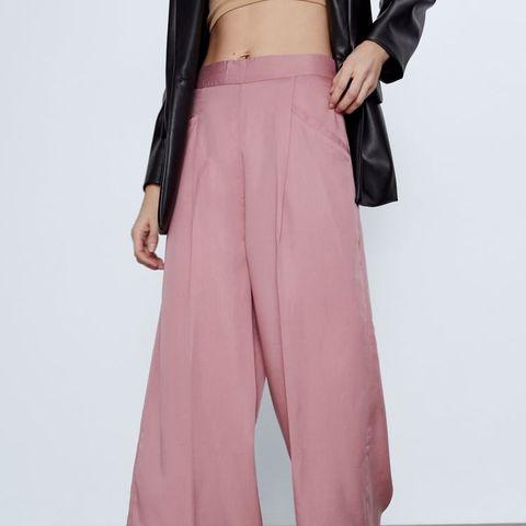 Clothing, Pink, Shoulder, Leg, Fashion, Waist, Dress, Joint, Magenta, Trousers,