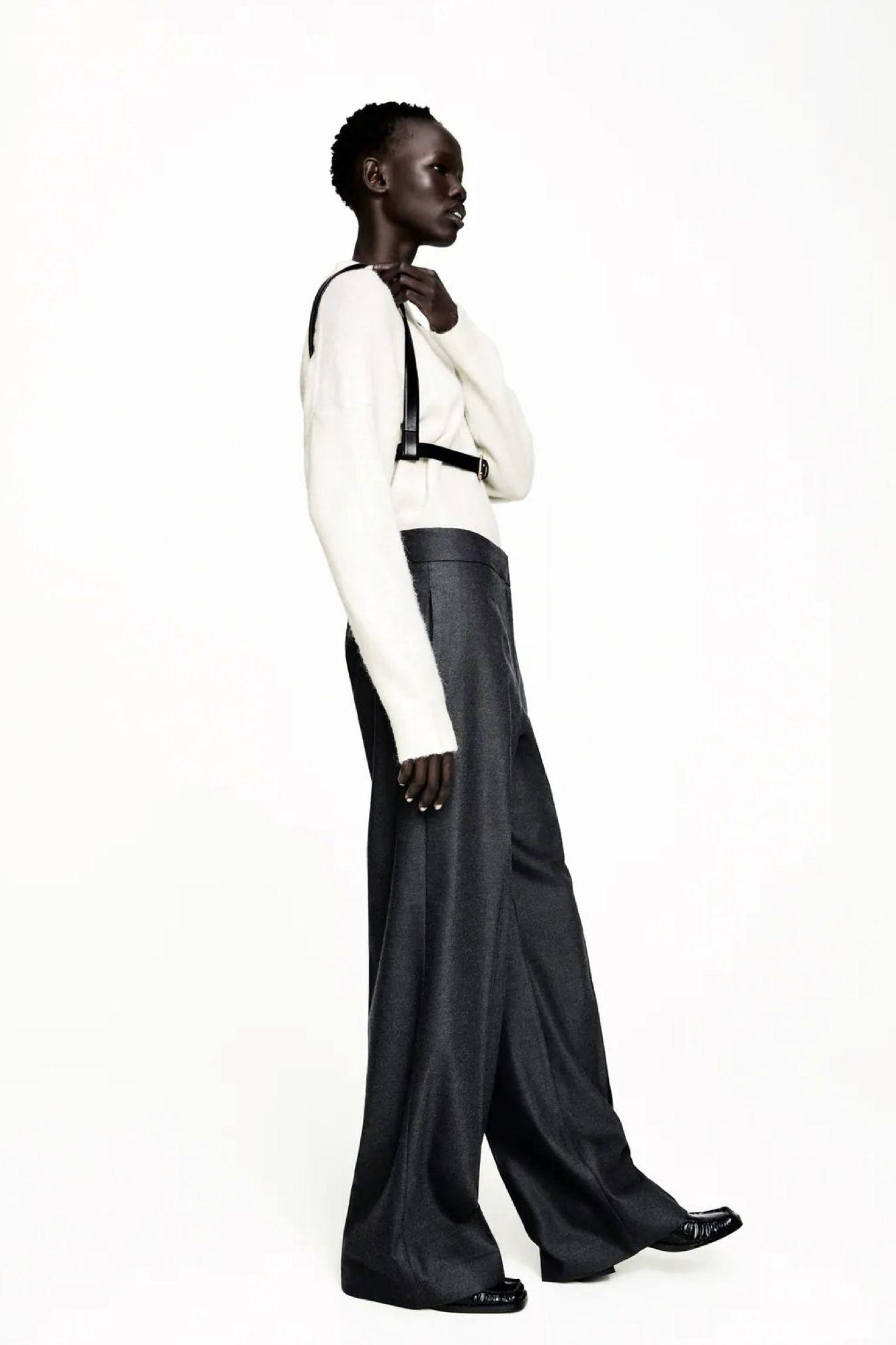 El Pantalon Ancho Que Mas Veces Ha Tenido Que Reponer Zara