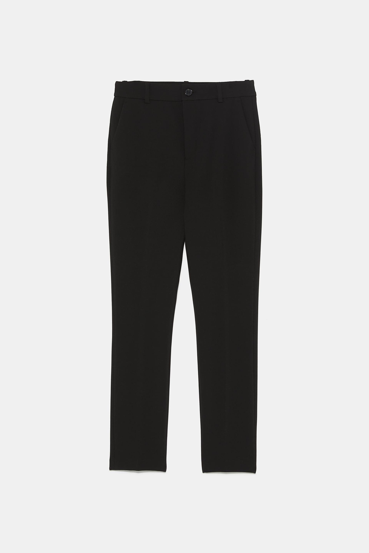 Pantaloni inverno 2020, quelli neri Zara effetto