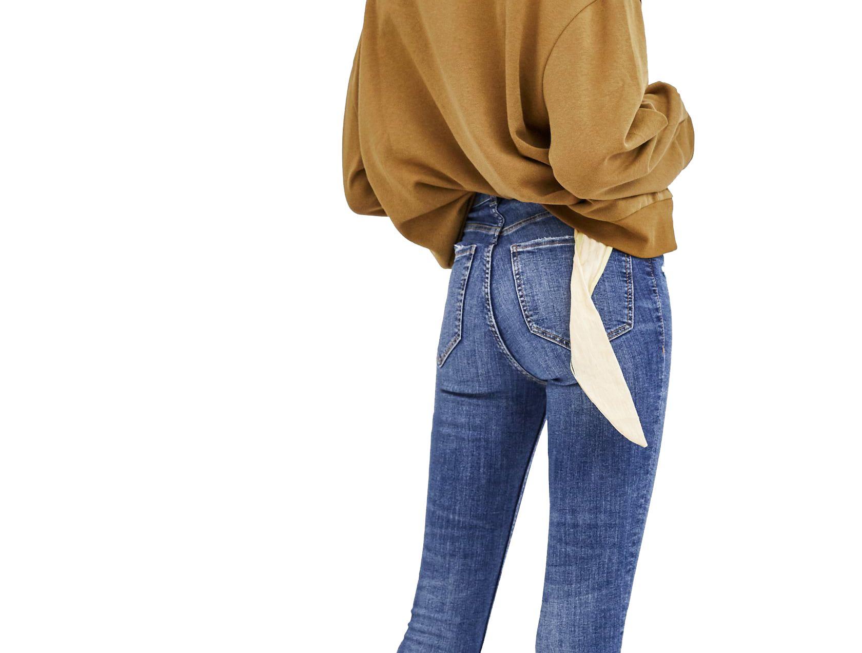 Zara vende los vaqueros que te hacen más delgada - Estos vaqueros de ...