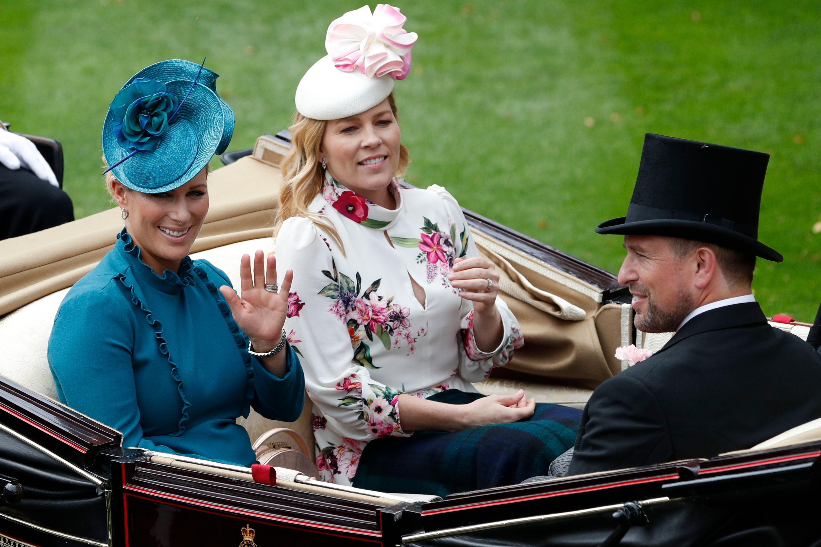 64daf8277e04 Zara Tindall's Best Style Moments - Queen Elizabeth's Granddaughter ...