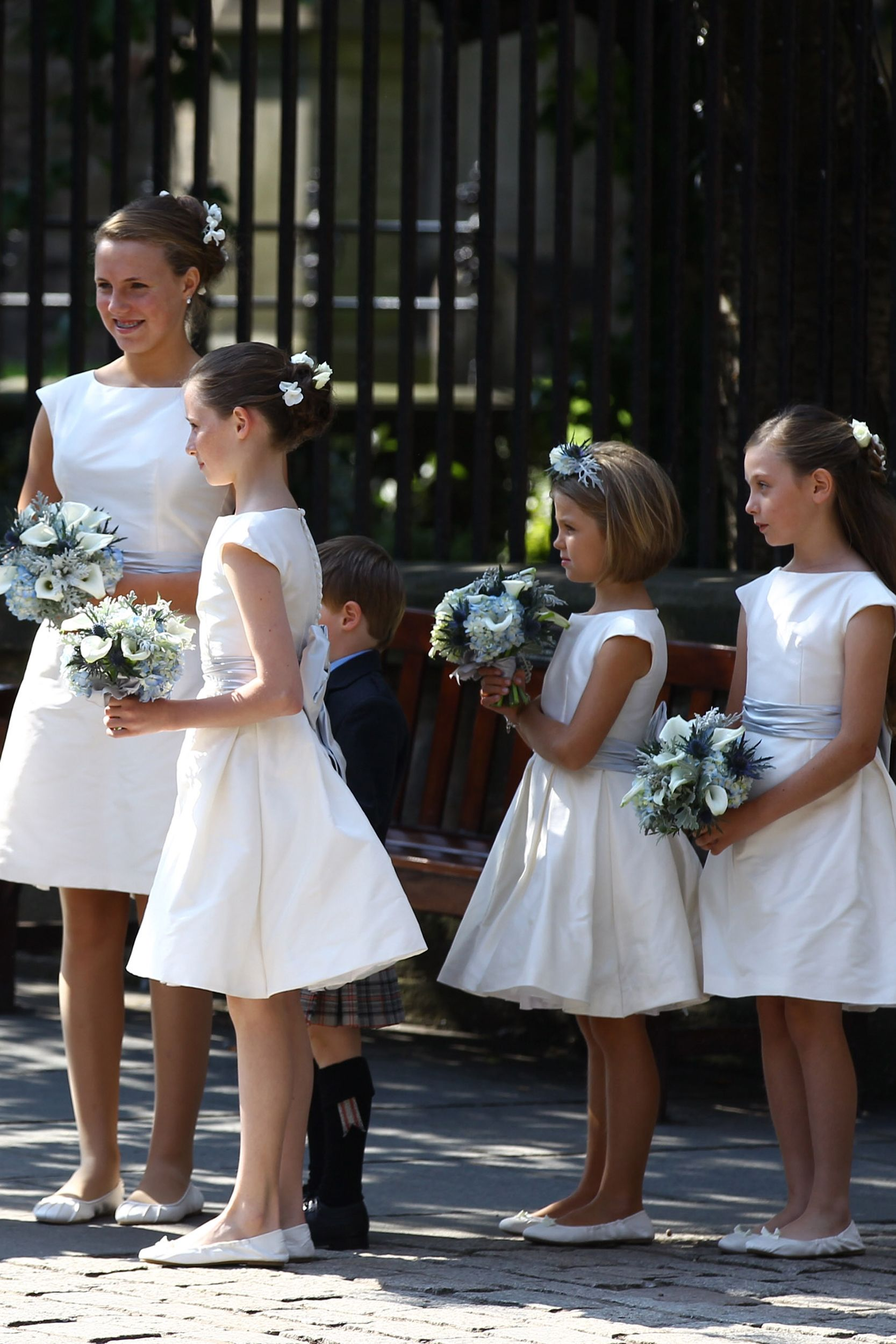 A Look Back At Royal Bridesmaids Through The Years,Formal Summer Beach Wedding Guest Dresses