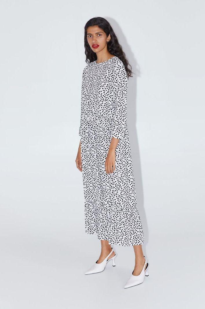 Zara's Famous Polka-Dot Dress Boosts Worldwide Sales