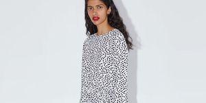 £39.99 Zara polka dot maxi dress