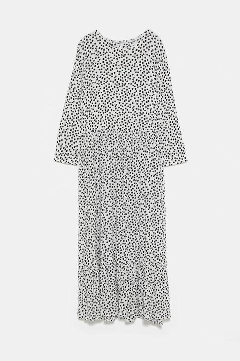 Spring Summer Zara polka dot dress