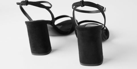 sandalias negras rebajas zara