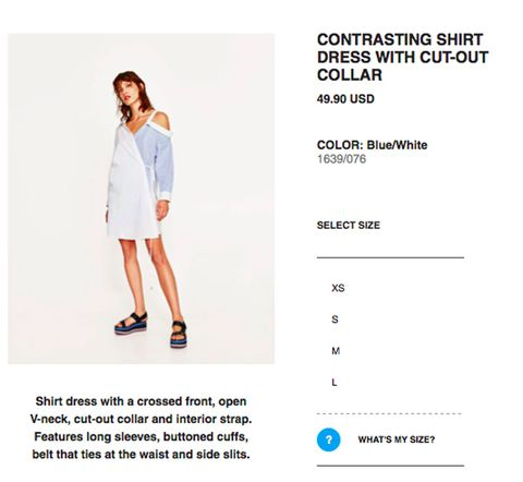 3e577276 Zara Secret Online Shopping Trick - Zara Tailor Size Feature Online