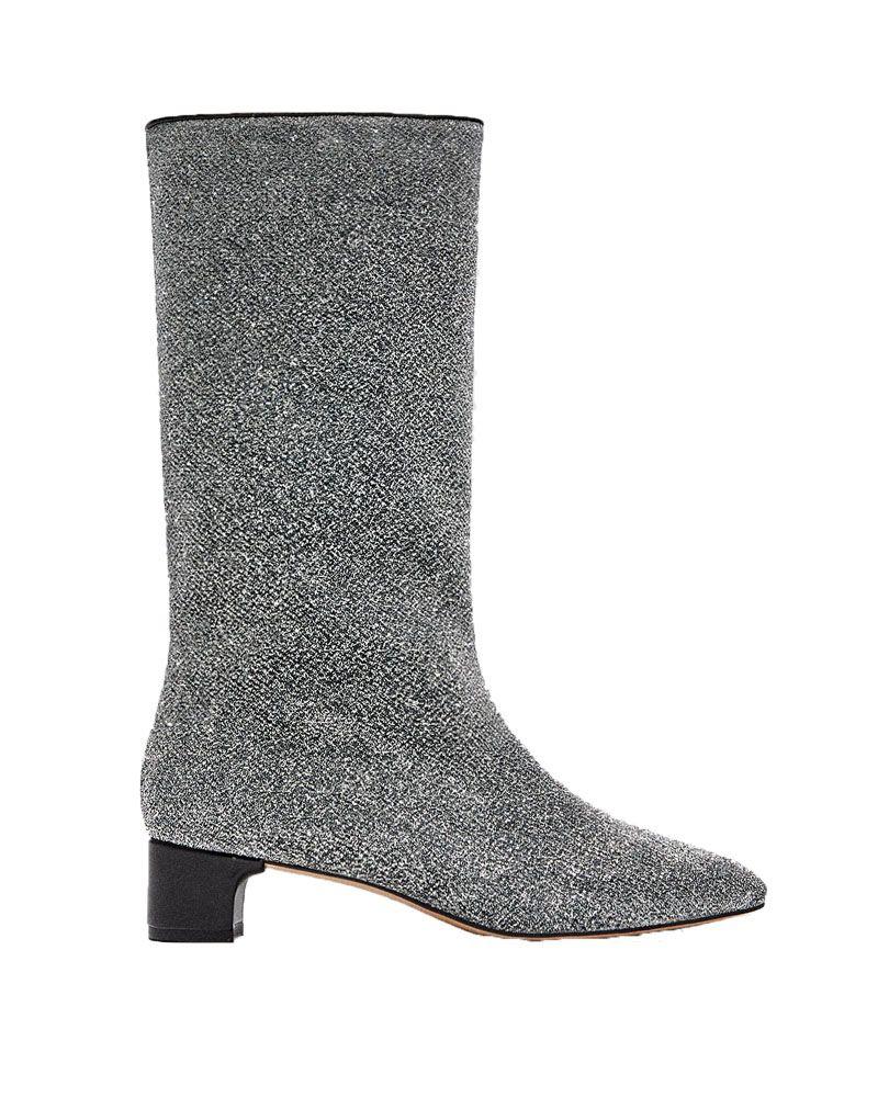 Zara sparkly boots